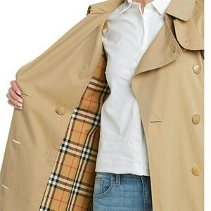 Jackets & Blazers - Trendy Long Belted Womens Trench Coat fashion